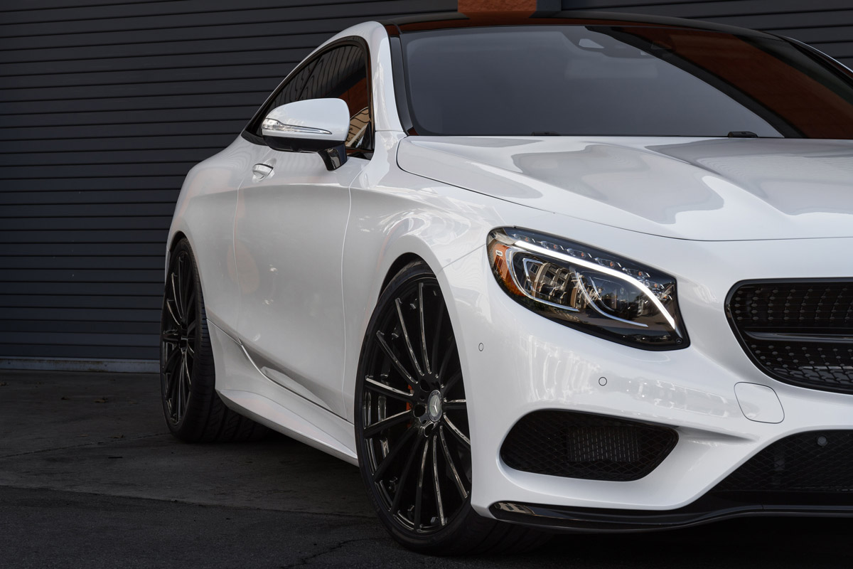 Mercedez with TSW Alloy Wheels Fitted
