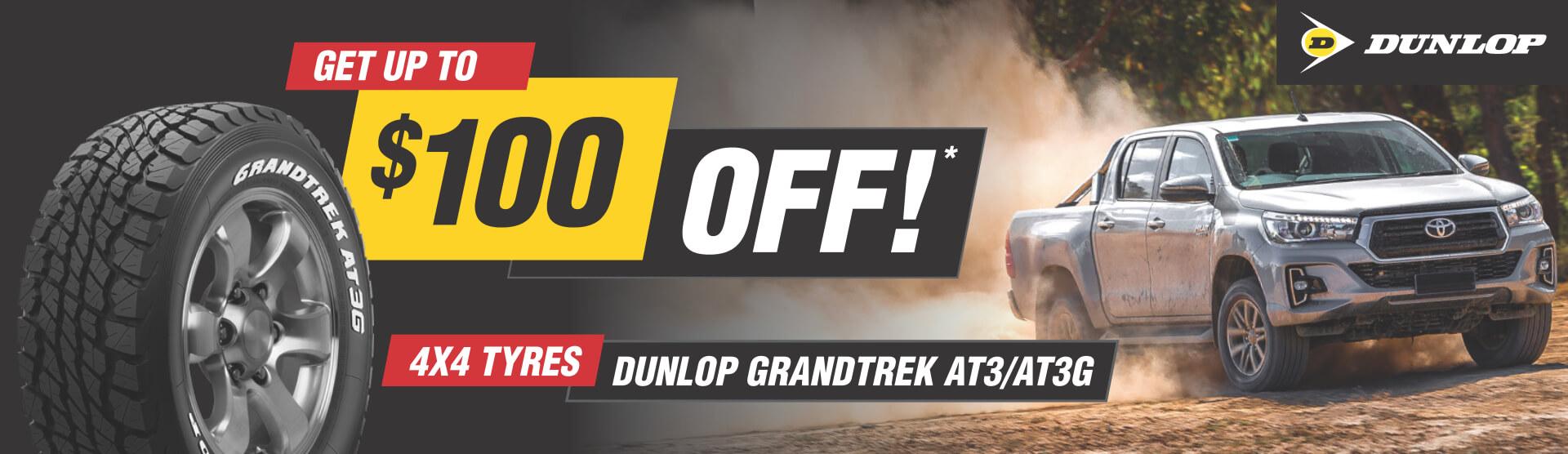 Dunlop Grandtrek AT3 Special